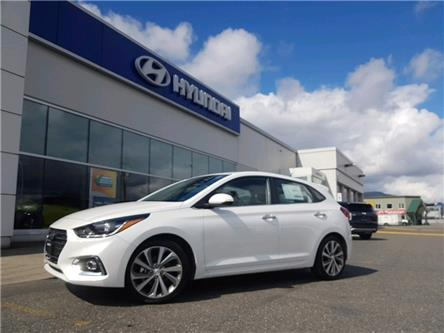2020 Hyundai Accent Ultimate (Stk: HA1-3998) in Chilliwack - Image 1 of 12