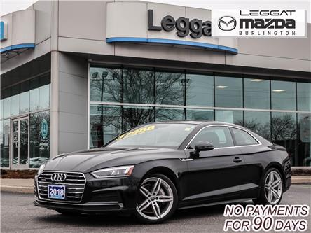 2018 Audi A5 2.0T Technik (Stk: 2150) in Burlington - Image 1 of 27