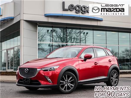 2017 Mazda CX-3 GT (Stk: 2167LT) in Burlington - Image 1 of 30