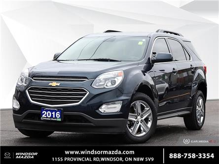 2016 Chevrolet Equinox LT (Stk: TR4868) in Windsor - Image 1 of 29