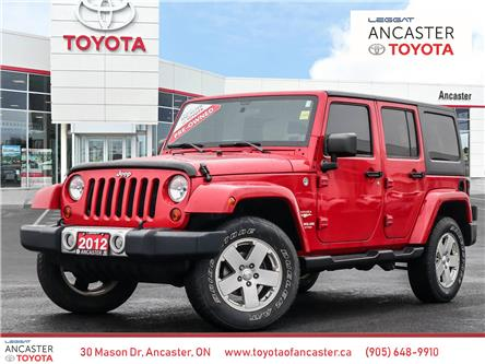2012 Jeep Wrangler Unlimited Sahara (Stk: 20168A) in Ancaster - Image 1 of 21