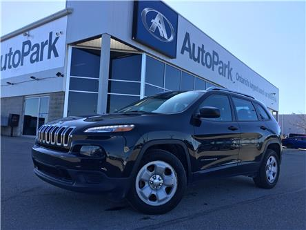 2016 Jeep Cherokee Sport (Stk: 16-43075JB) in Barrie - Image 1 of 25