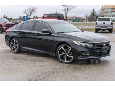 2018 Honda Accord Sport (Stk: 27411U) in Barrie - Image 1 of 30