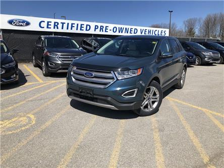 2016 Ford Edge Titanium (Stk: NT191393A) in Barrie - Image 1 of 19