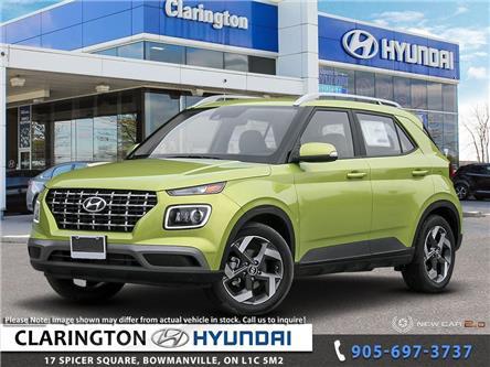 2020 Hyundai Venue Ultimate w/Grey-Lime Interior (Stk: 20210) in Clarington - Image 1 of 24