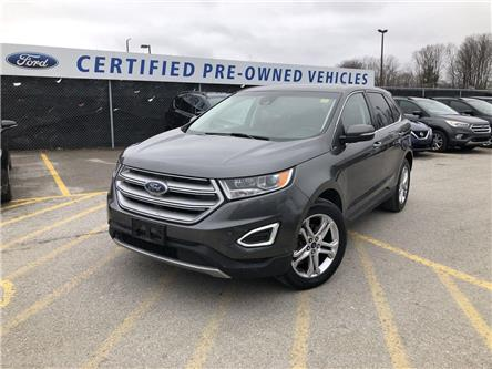 2017 Ford Edge Titanium (Stk: ET20060A) in Barrie - Image 1 of 20