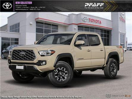 2020 Toyota Tacoma 4x4 Double Cab Short Bed V6 6A (Stk: H20216) in Orangeville - Image 1 of 24