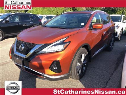 2020 Nissan Murano Platinum (Stk: MU20005) in St. Catharines - Image 1 of 5