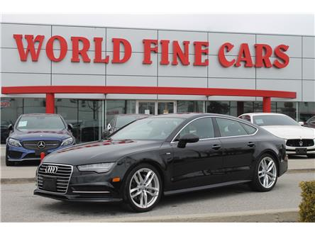 2017 Audi A7 3.0T Progressiv (Stk: 17179) in Toronto - Image 1 of 25
