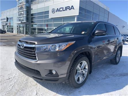 2015 Toyota Highlander Limited (Stk: A4123A) in Saskatoon - Image 1 of 21