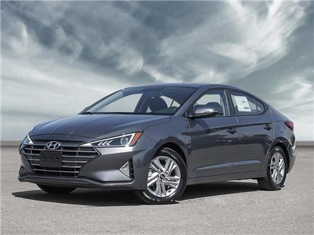 2020 Hyundai Elantra Preferred w/Sun & Safety Package (Stk: H5268) in Toronto - Image 1 of 23