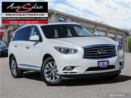2015 Infiniti QX60 7 Passenger (Stk: W1JX231) in Scarborough - Image 1 of 30