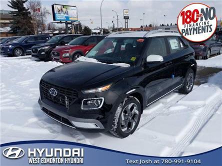 2020 Hyundai Venue Trend w/Urban PKG - Demin Interior (IVT) (Stk: VN03396) in Edmonton - Image 1 of 9