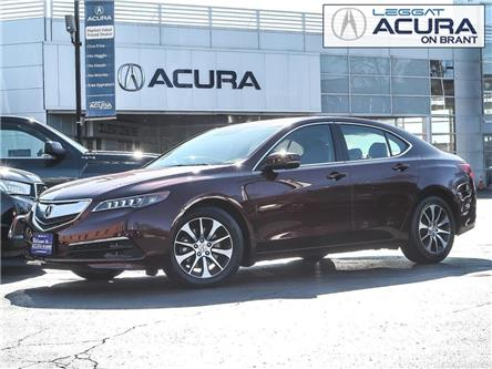 2016 Acura TLX Tech (Stk: D498) in Burlington - Image 1 of 28