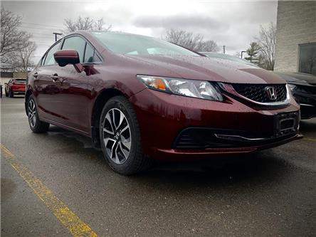 2015 Honda Civic EX (Stk: 20P042) in Kingston - Image 1 of 8