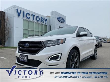 2018 Ford Edge Sport (Stk: V4822LB) in Chatham - Image 1 of 26