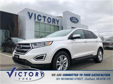 2017 Ford Edge SEL (Stk: V19297A) in Chatham - Image 1 of 27