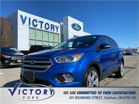 2017 Ford Escape Titanium (Stk: V19365A) in Chatham - Image 1 of 21