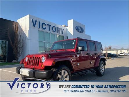 2012 Jeep Wrangler Unlimited  (Stk: V10359A) in Chatham - Image 1 of 15