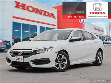 2017 Honda Civic LX (Stk: 20604A) in Cambridge - Image 1 of 27