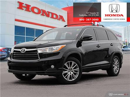 2016 Toyota Highlander XLE (Stk: 20191B) in Cambridge - Image 1 of 27