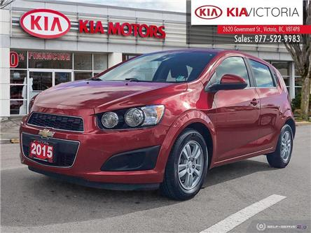 2015 Chevrolet Sonic LT Auto (Stk: A1565) in Victoria - Image 1 of 25