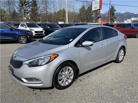 2016 Kia Forte 1.8L LX+ (Stk: K01-9817A) in Chilliwack - Image 1 of 15