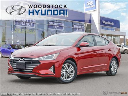 2020 Hyundai Elantra Preferred w/Sun & Safety Package (Stk: EA20029) in Woodstock - Image 1 of 23