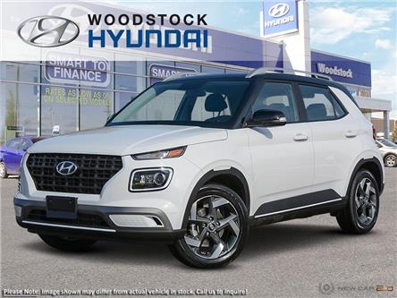 2020 Hyundai Venue Ultimate w/Black Interior (IVT) (Stk: VE20000) in Woodstock - Image 1 of 22