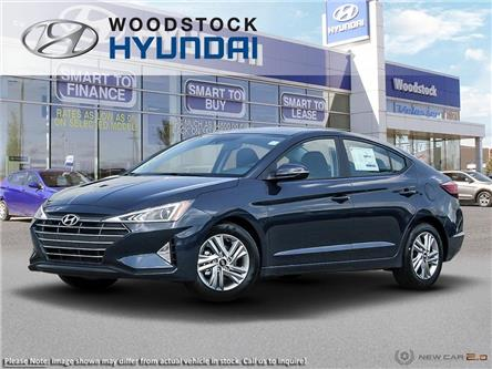 2020 Hyundai Elantra Preferred w/Sun & Safety Package (Stk: EA20035) in Woodstock - Image 1 of 23
