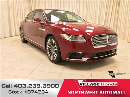 2017 Lincoln Continental Select (Stk: B7433A) in Calgary - Image 1 of 21