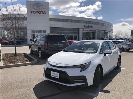 2020 Toyota Corolla SE (Stk: P2100) in Whitchurch-Stouffville - Image 1 of 17