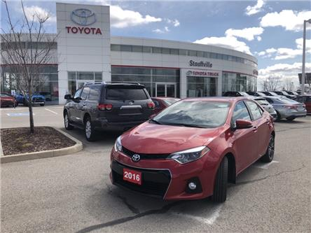 2016 Toyota Corolla S (Stk: P2068) in Whitchurch-Stouffville - Image 1 of 14