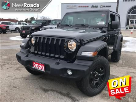 2020 Jeep Wrangler Sport (Stk: W19382) in Newmarket - Image 1 of 21