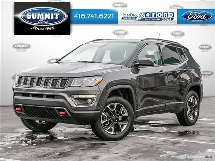 2017 Jeep Compass Trailhawk (Stk: 19T5803A) in Toronto - Image 1 of 27
