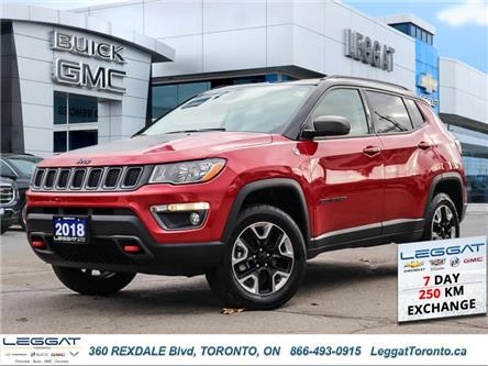 2018 Jeep Compass Trailhawk (Stk: T11666) in Etobicoke - Image 1 of 25