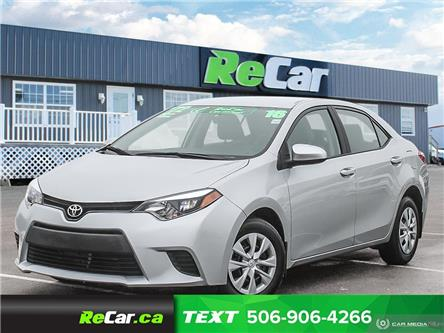 2016 Toyota Corolla CE (Stk: 200371A) in Fredericton - Image 1 of 22