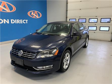 2014 Volkswagen Passat 2.0 TDI Comfortline (Stk: 14-031799) in Lower Sackville - Image 1 of 12
