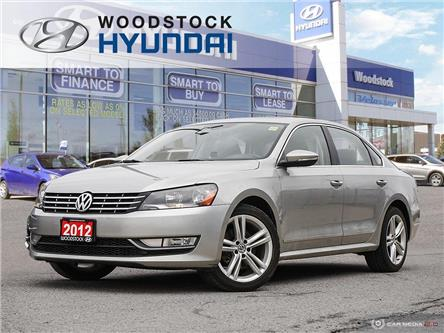 2012 Volkswagen Passat 2.0 TDI Highline (Stk: P1494) in Woodstock - Image 1 of 27