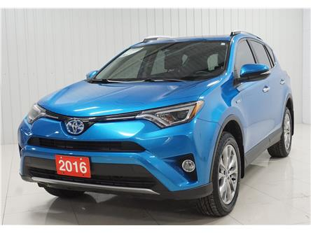 2016 Toyota RAV4 Hybrid Limited (Stk: P5766) in Sault Ste. Marie - Image 1 of 23
