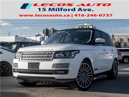 2016 Land Rover Range Rover DIESEL Td6 HSE (Stk: SALGS2) in Toronto - Image 1 of 26