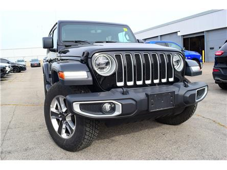 2019 Jeep Wrangler Unlimited Sahara (Stk: 91571D) in St. Thomas - Image 1 of 30