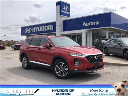 2019 Hyundai Santa Fe Preferred 2.4 (Stk: L5197) in Aurora - Image 1 of 18