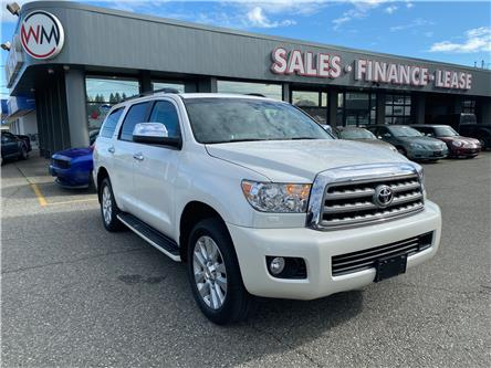2016 Toyota Sequoia Platinum 5.7L V8 (Stk: 16-128278) in Abbotsford - Image 1 of 20