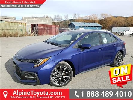 2020 Toyota Corolla SE (Stk: P013385) in Cranbrook - Image 1 of 25