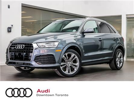 2018 Audi Q3 2.0T Progressiv (Stk: P3713) in Toronto - Image 1 of 29