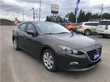 2016 Mazda Mazda3 GX (Stk: 6538-20A) in Sault Ste. Marie - Image 1 of 14