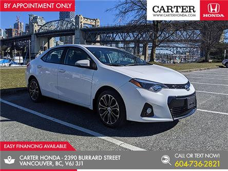 2016 Toyota Corolla S (Stk: CL01811) in Vancouver - Image 1 of 23