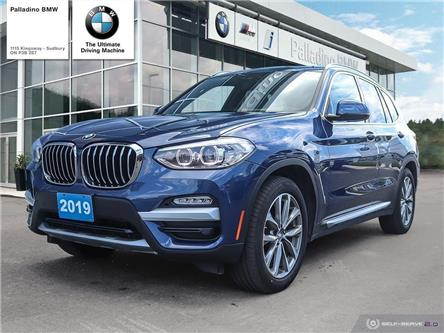2019 BMW X3 xDrive30i (Stk: U0091) in Sudbury - Image 1 of 21