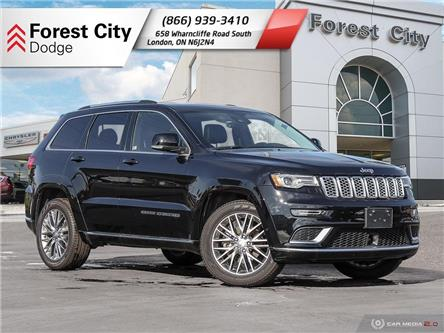 2018 Jeep Grand Cherokee Summit (Stk: 8-7004D) in London - Image 1 of 22
